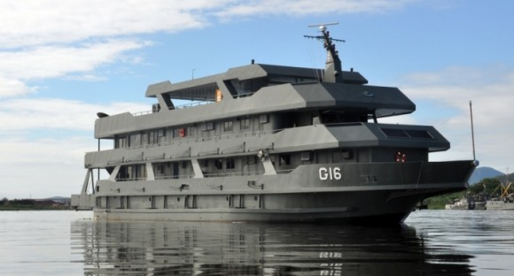 Navio-Transporte Fluvial Almirante Leverger G16
