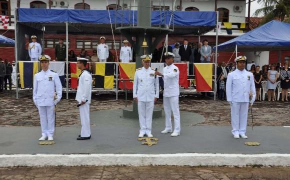 Cerimônia incorp Leverger e Caravelas em Ladário - foto 2 - Sexto Distrito Naval