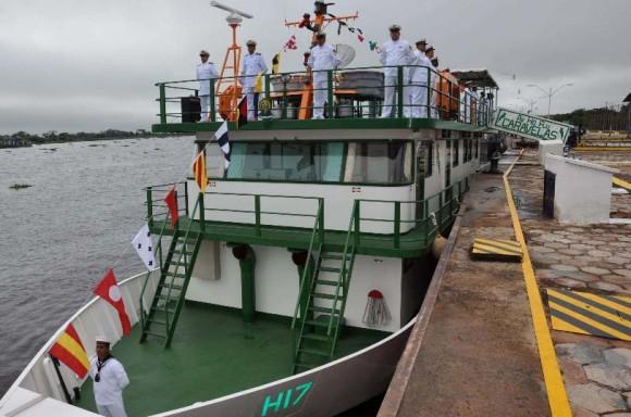 Cerimônia incorp Leverger e Caravelas em Ladário - foto 4 - Sexto Distrito Naval