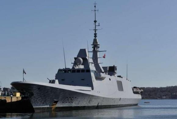 FREMM Aquitaine em escala em Halifax no Canadá - destaque foto Marinha Francesa