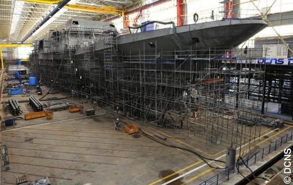 FREMM - construção na França - foto 7 DCNS