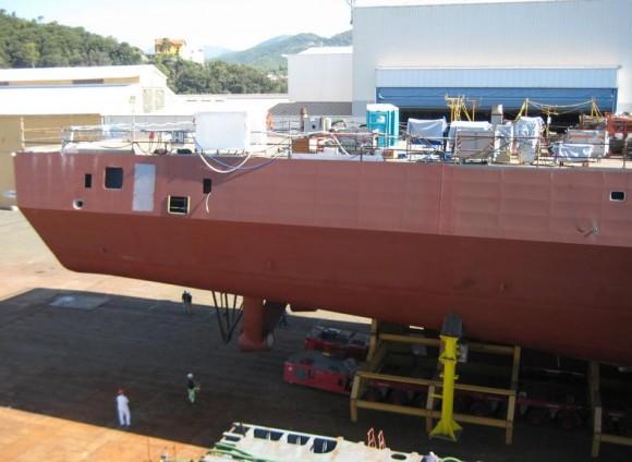 FREMM - construção na Itália - foto 2 Marinha Italiana