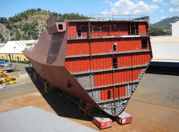 FREMM - construção na Itália - foto 3 Marinha Italiana