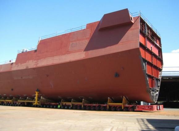 FREMM - construção na Itália - foto 4 Marinha Italiana