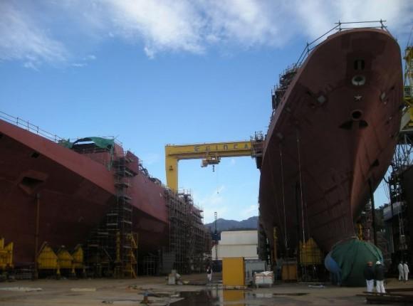 FREMM - construção na Itália - foto 7 Marinha Italiana