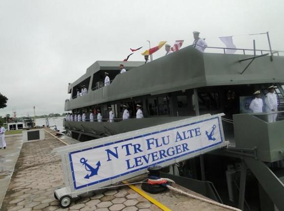 Incorporação NTrFlu Alte Leverger - foto via prefeitura de Ladário