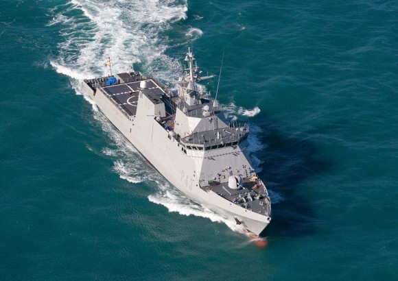 OPV - BAM para a Marinha Espanhola - foto Navantia