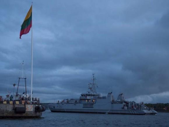 navios de contraminagem de marinhas da OTAN no Báltico - foto 2 Min Def Lituânia