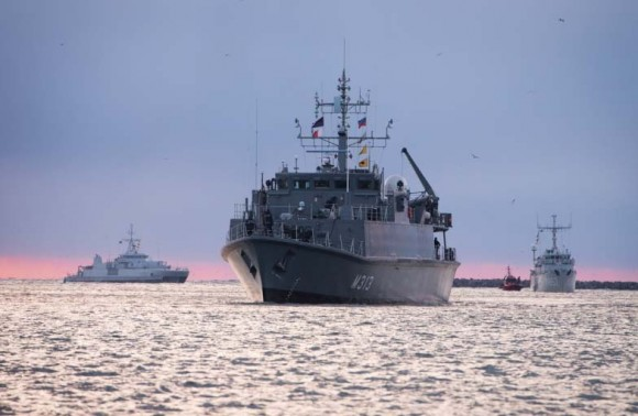 navios de contraminagem de marinhas da OTAN no Báltico - foto 4 Min Def Lituânia