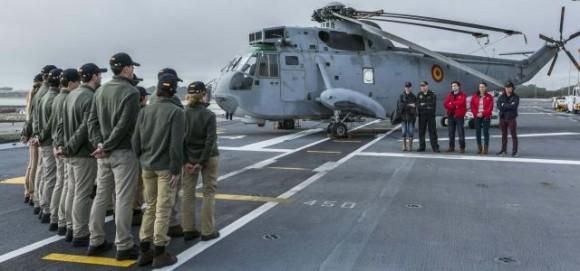 programa Masterchef a bordo do Juan Carlos I - foto Armada Espanhola