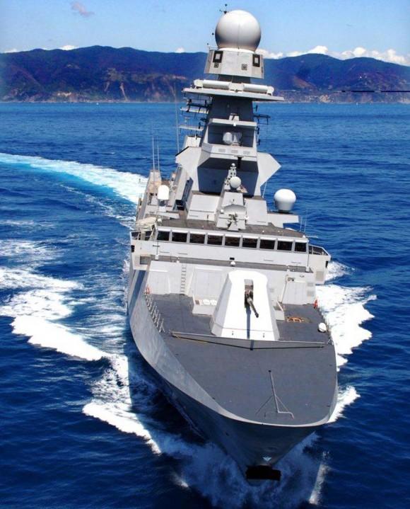 FREMM Carlo Bergamini - foto Marinha Italiana
