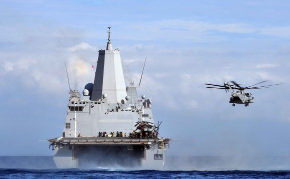 USS Mesa Verde action