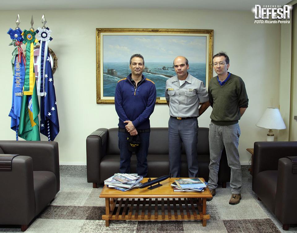 Alexandre Galante, Almirante Olsen e Claudio Queiroz