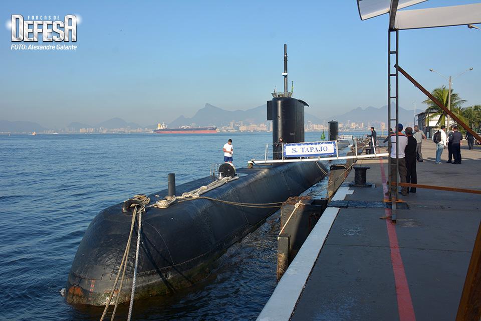 Embarque no submarino Tapajó - 2