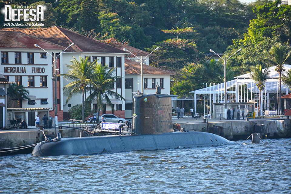 Submarino Tikuna na BACS