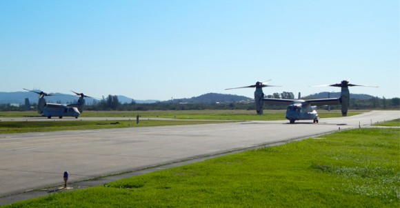 MV-22 Osprey na BAeNSPA