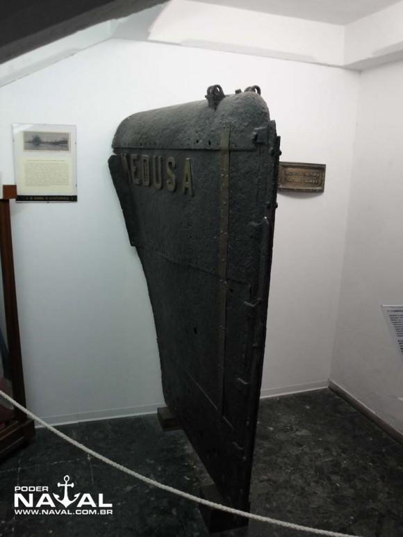 Museu Hist Naval Veneza - proa sub Medusa 1911 - PNaval - Nunão