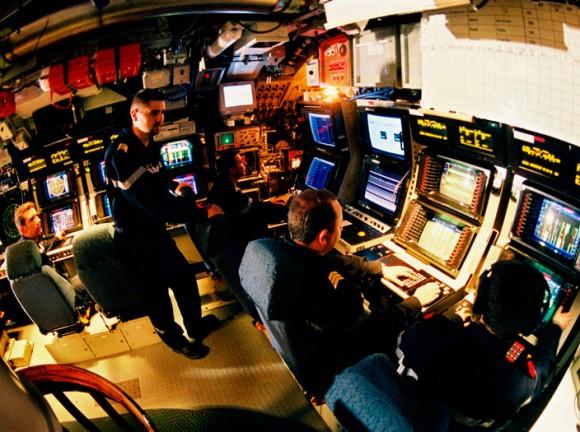 consoles em submarino - foto DCNS