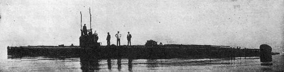 submarino F1 - foto 2 via NGB