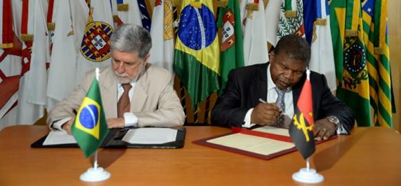 Acordo Brasil Angola Pronaval - foto 2 Ministério da Defesa