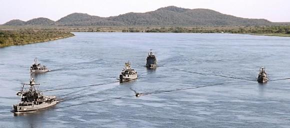 Operação NINFA XXV com Armada Paraguaia - foto MB - 6 Distrito Naval