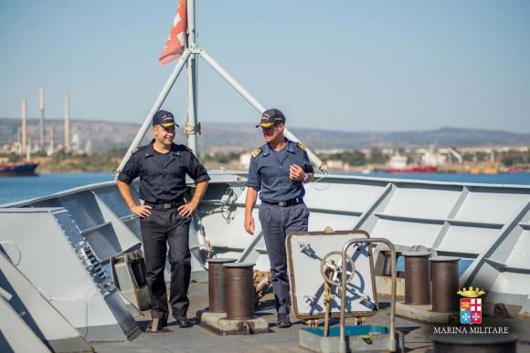 Passagem comando navios Sirio e Orione - foto 3 Marinha Italiana