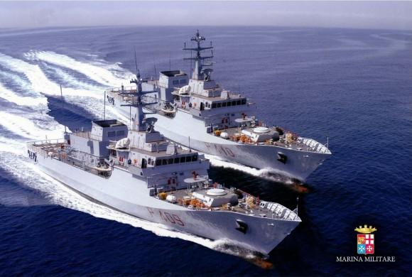 Passagem comando navios Sirio e Orione - foto 4 Marinha Italiana