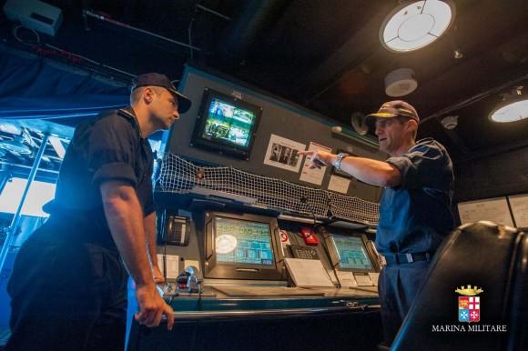 Passagem comando navios Sirio e Orione - foto 5 Marinha Italiana