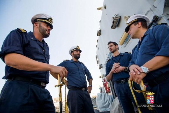 Passagem comando navios Sirio e Orione - foto 6 Marinha Italiana