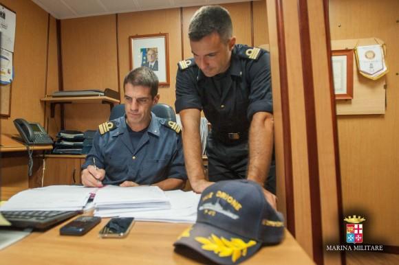 Passagem comando navios Sirio e Orione - foto 7 Marinha Italiana