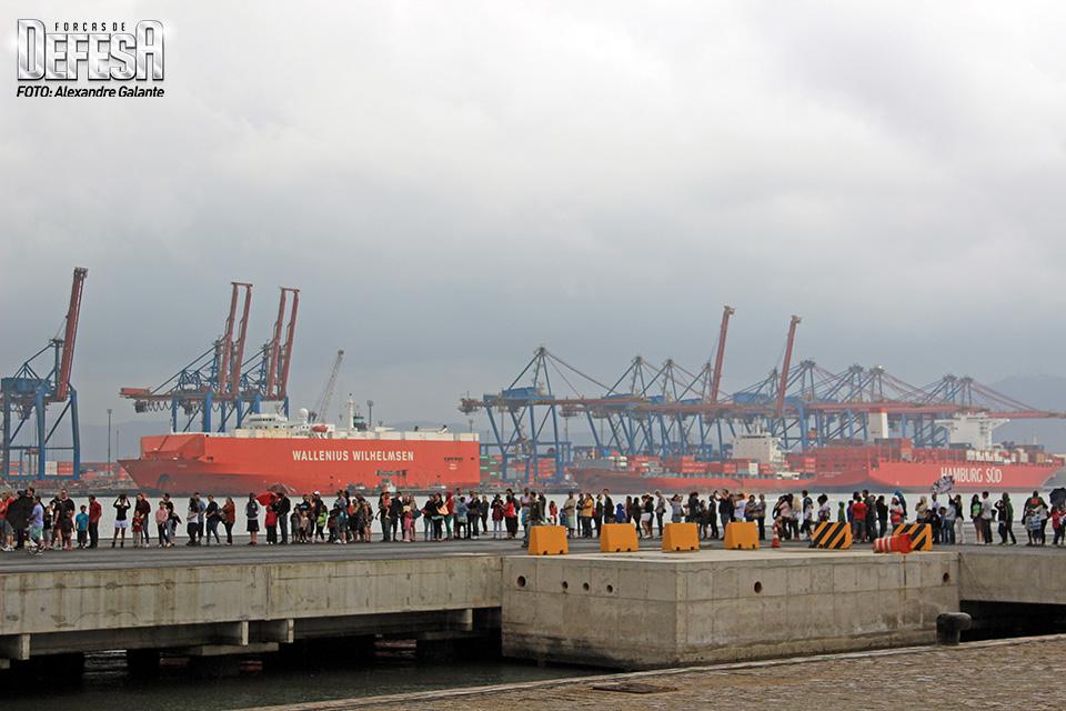 Visitação navios em Santos-SP 025a
