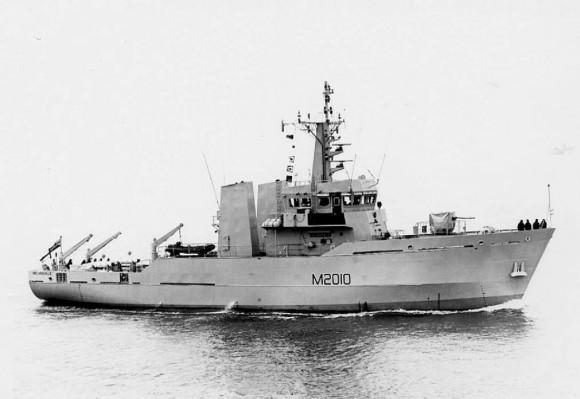 HMS Helmsdale - M 2010 - foto via NGB