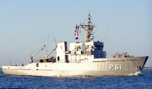 Navio-patrulha Benevente - foto via NGB