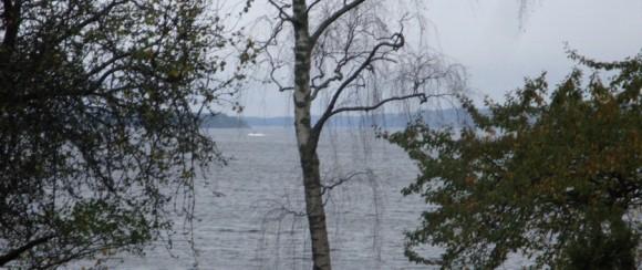 Suposta imagem de intruso no arquipélago de Estocolmo - foto via Forças Armadas da Suécia