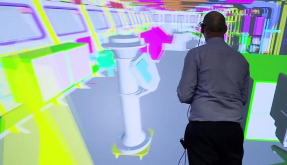 Cena vídeo realidade virtual no projeto de navios para a RN - BAE Systems