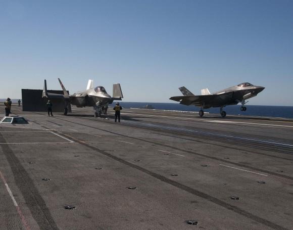 F-35C no USS Nimitz - foto 9 USN