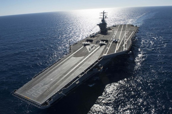 F-35C no USS Nimitz - foto USN