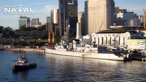 Georges Leygues no Rio em 2012 - foto Nunão - Poder Naval