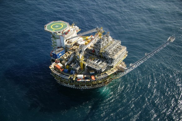 Plataforma de Piranema - Petrobras