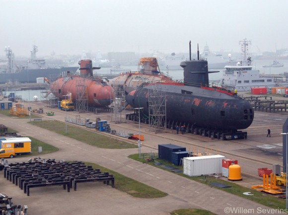 três submarinos da classe Walrus - 1