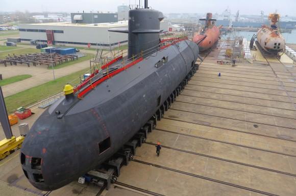 três submarinos da classe Walrus - 4