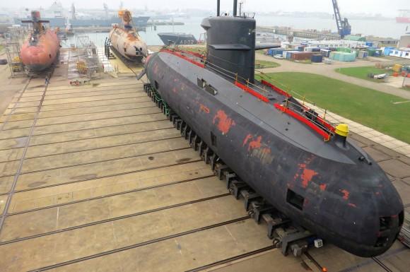 três submarinos da classe Walrus - 5