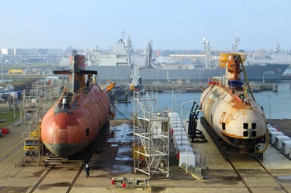 três submarinos da classe Walrus - 6