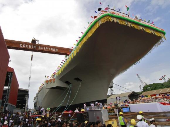 Indigenous Vikrant class Aircraft Carrier (IAC) - 4