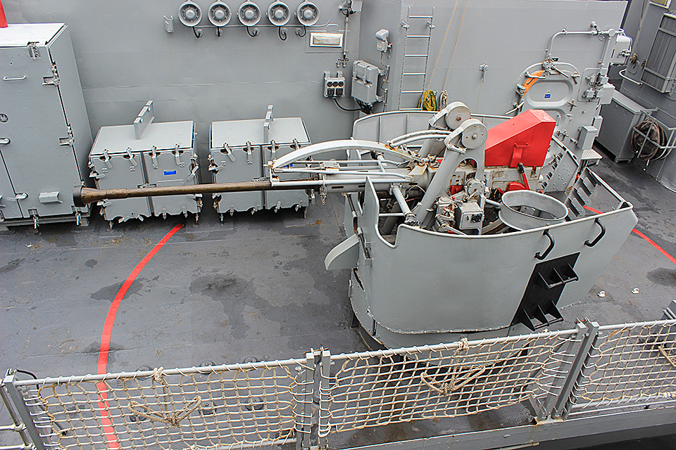 Canhão de 40mm/L70 da Greenhalgh