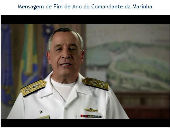 Vídeo Comandante da Marinha
