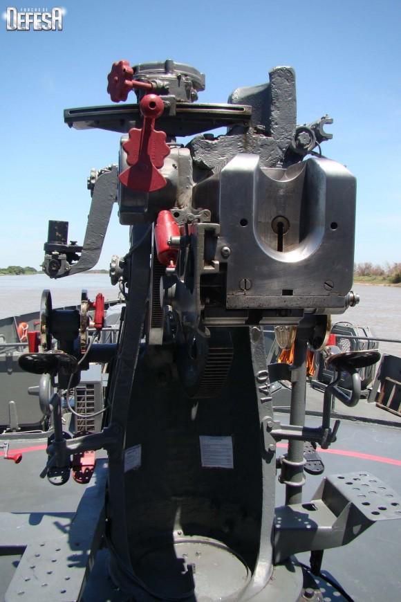 Parnaíba - canhão de 76mm - foto 4 Nunão - Poder Naval - Forças de Defesa