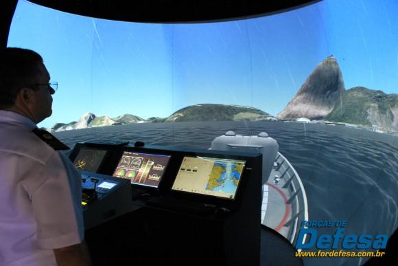 simulador naval LAAD 2013