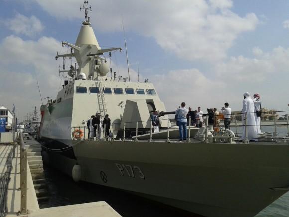 Corveta Al Dhafra P173, da classe Baynunah dos EAU