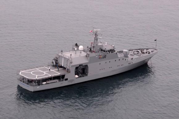 Fassmer-80 OPV Comandante Toro da Marinha Chilena